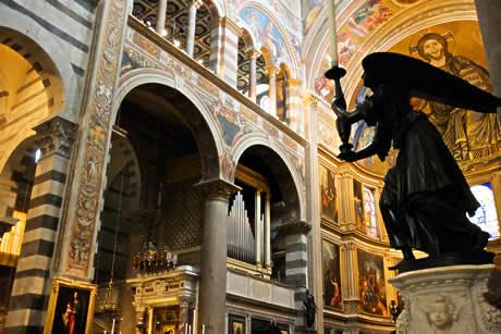 L 39 int rieur de la cath drale santa maria assunta de pise - Tour de pise interieur ...